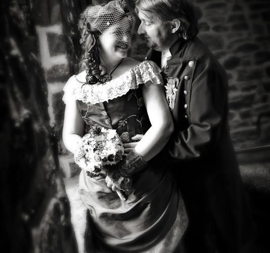 E & C – Auberge Saint Gabriel-Steam punk wedding